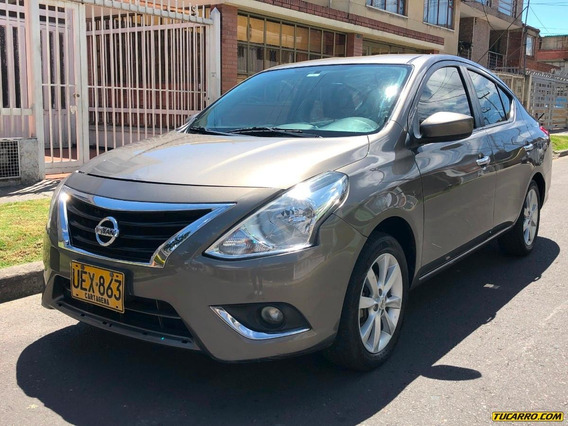 Nissan Versa New Versa Advance 1600cc At Ab