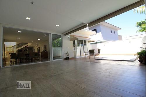 Casa À Venda No Cond. Quinta Do Golfe, 380m², - Rio Preto - V2310