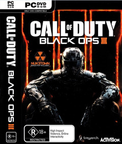 Call Of Duty Black Ops 3 Pc-dvd- (midia Fisica) Off Line