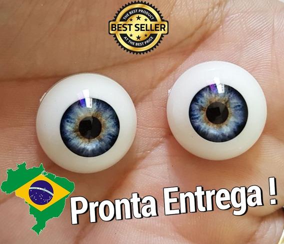 10 Pares De Olhos Importados P/ Bebe Reborn