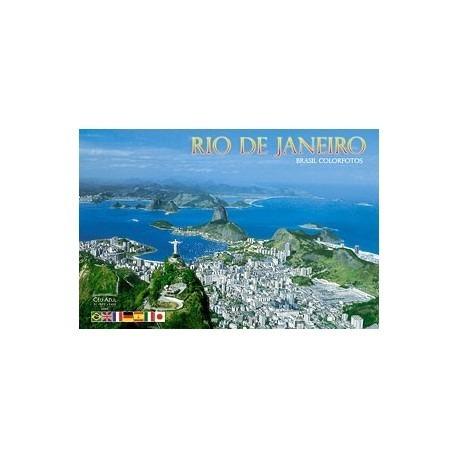 Livro - Rio De Janeiro Brasil Colorfotos
