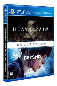 Jogo The Heavy Rain & Beyond Two Souls Collection, Ps4