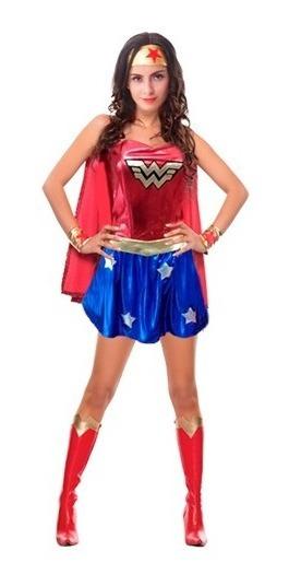 Disfraz Mujer Maravilla ,adulto.