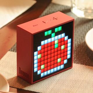 Parlante Divoom Timebox-mini 2500ma Bluetooth 4.0 Rojo 13