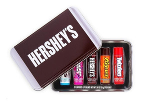Lip Balm Hidratante Labial Hersheys Kit Com 5 Balms