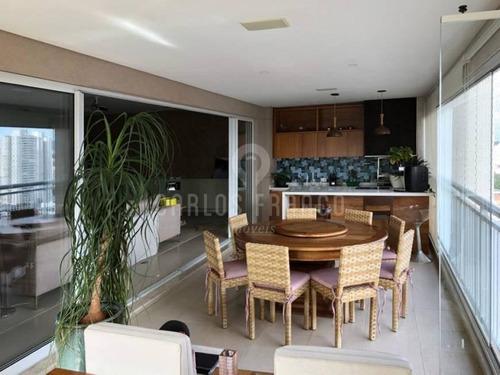 Excelente Apartamento  4 Dormitórios Na Vila Romana - Cf69730