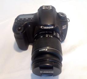 Câmera Fotográfica E Filmadora Canon 60d + Lente 18 - 55 Mm