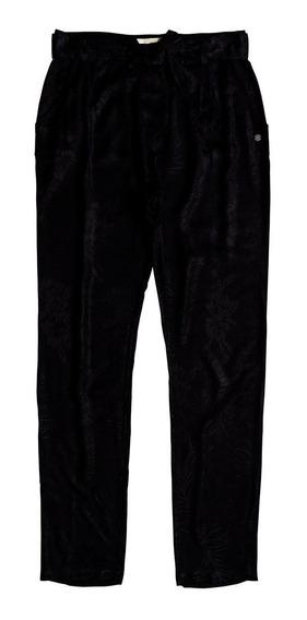 Pantalón Dama Diseño Pierna Zanahoria Bolsillos Frente Roxy