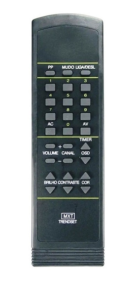 Controle Remoto Ukas Ik-001a Tv Philips Trendset Gl1013