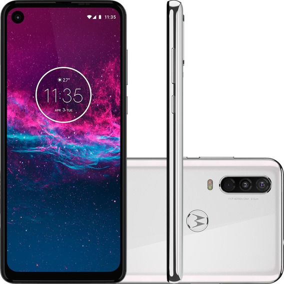 Smartphone Motorola One Action 128gb Câmera 12mp/5mp/16mp