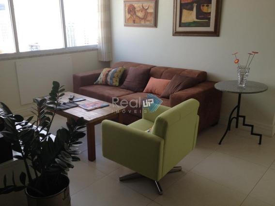 Reformado Por Arquiteto !sala + Quarto + Dep. Completas + Vaga No Leblon - 1264