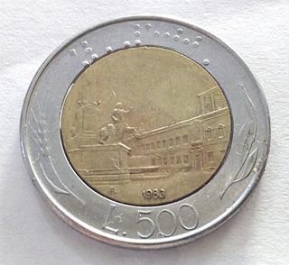 Monedas De Italia L500