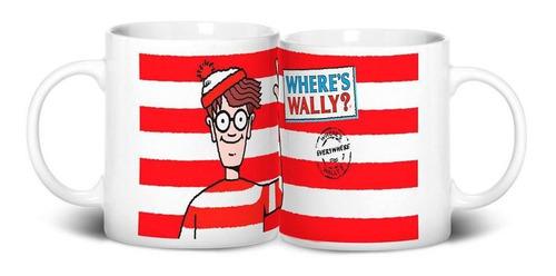 Caneca Onde Esta Wally