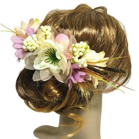 Flor Acessório Vintage Noiva Casamento Headband Debutante