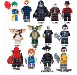 Mini Figuras Jason Freddy Joker Cine Movie Maniacs Gizmo Saw
