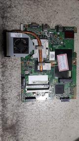 Placa Mãe Notebook Hp Compaq Cq50 - Com Defeito