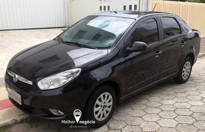 Fiat Grand Siena Attrac. 1.4 Evo Flex 2014 Preto