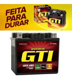 Bateria Moto Gel 5ah Titan Fan 125 150 160 Mix Biz Bros Xre
