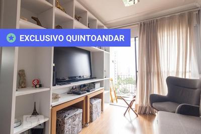 Apartamento No 7º Andar Mobiliado Com 2 Dormitórios E 1 Garagem - Id: 892934993 - 234993