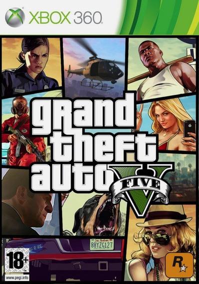 Grand Theft Auto V ( Gta V ) Xbox 360 (mídia Digital
