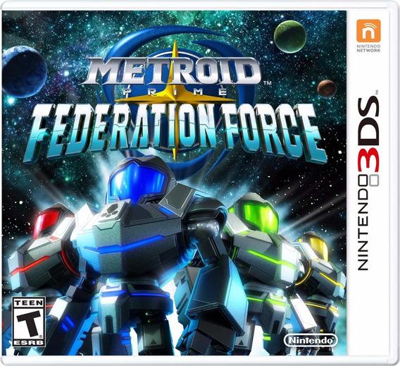 Metroid Prime Federation Force - 3ds - Pronta Entrega!