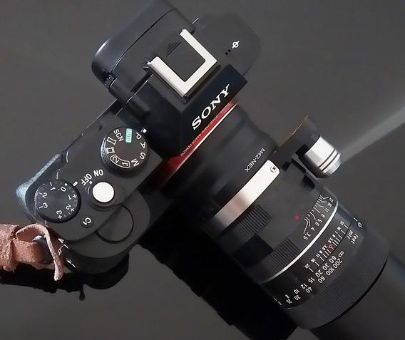 Lente Westromat 135mm Germany + Adaptador Novo Sony E Nex