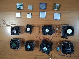 Lote De 8 Microprocesadores Y 8 Cooler