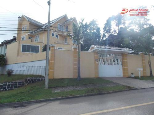Casa À Venda, 480 M² Por R$ 1.280.000,00 - Abranches - Curitiba/pr - Ca0229