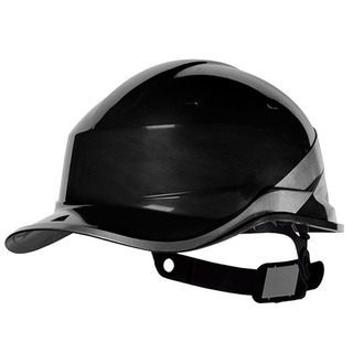 Capacete Com Aba Frontal Preto Baseball Diamond V Delta Plus