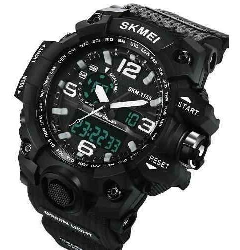 Relógio Skmei Original Modelo 1155 Camuflado Prova D