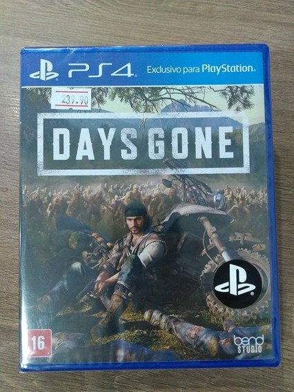 Days Gone - Play 4 - Novo