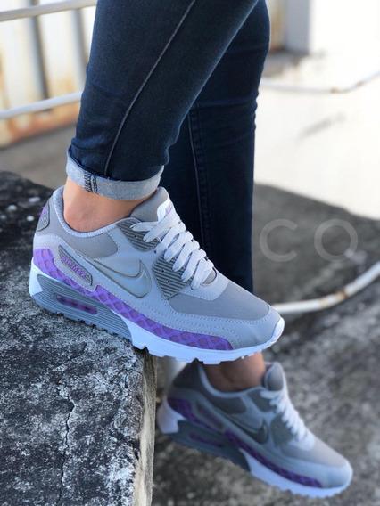 Zapatos Tenis Zapatillas Nike Airmax 3d Dama + Envio Gratis