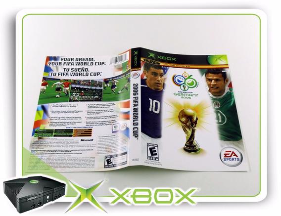Encarte Fifa World Cup Germany 2006 Original Xbox Clássico