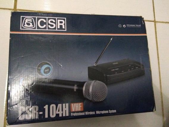 Microfone Sem Fio Csr 104-h