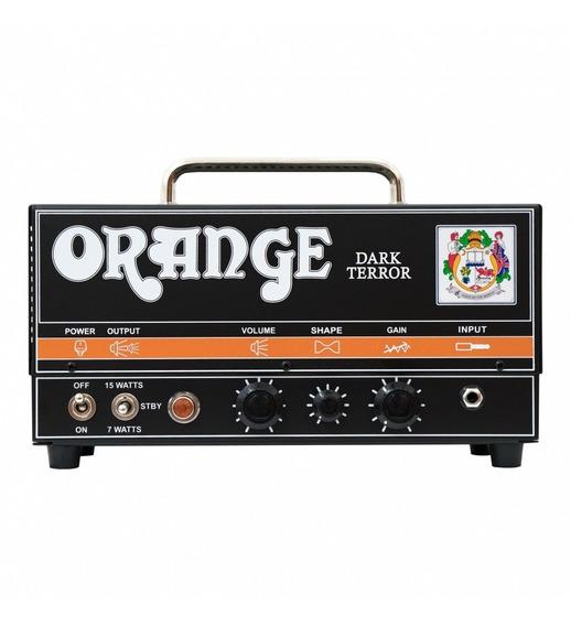 Cabezal Amplificador Valvular Orange Dark Terror Da15h
