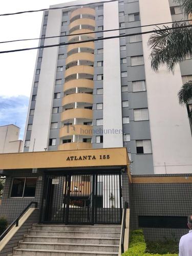 Apartamento Com 3 Dormitórios À Venda, 75 M² Por R$ 370.000,00 - Botafogo - Campinas/sp - Ap6493