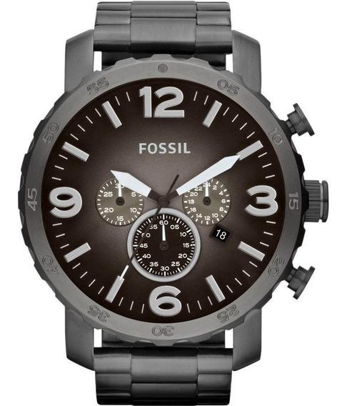 Relógio Fossil Masculino Grafite Jr1437/4pn