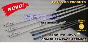 Kit C/3 Barras De Leds Tv Philco - Ph32u20dsgw Ph32u20 +fita