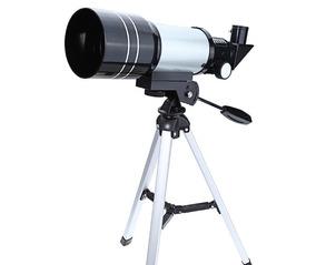 Telescópio Astronômico Refrator F300 70m - Hd Com Tripé