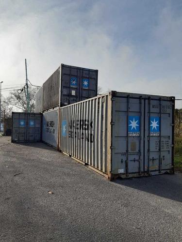 Container Contenedores Maritimo Usado 20' / 40' Crespo