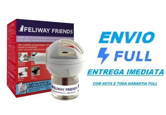 Feliway Friends Difusor Elétrico + Refil 48 Ml Ceva / Full