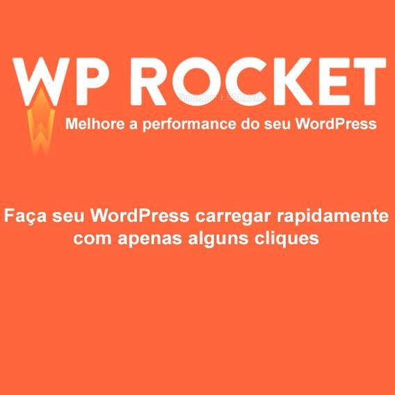 Wp Rocket Plugin Para Acelerar Seu Wordpress - Atualizado