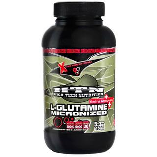 Glutamina 150 Grs Htn Micronizada Para Mejor Asimilación Polvo Sin Sabor Recuperación Y Masa