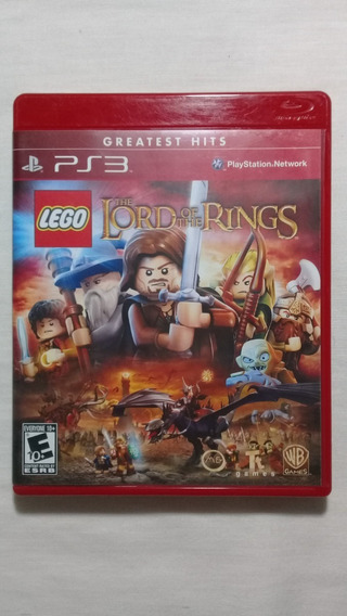 Lego The Lord Of The Rings Ps3 Completo Americano