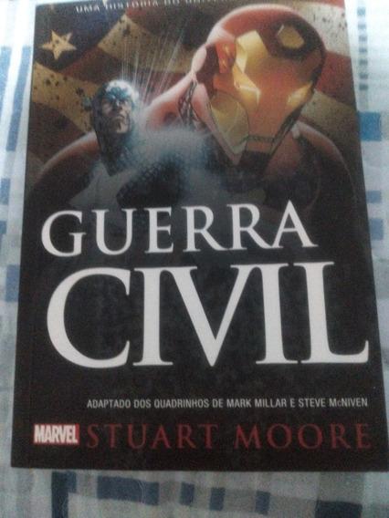 Livro Guerra Civil-marvel
