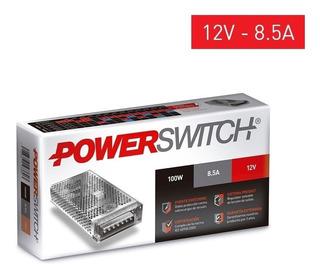 Fuente Switching Metalica 12v 8a Amp Cctv Tira Led