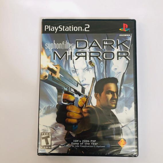 Syphonfilter Dark Mirror Lacrado Ps2 Original