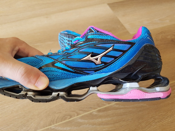 Zapatillas Mizuno Wave Prophecy 6 Running Mujer Talle 38