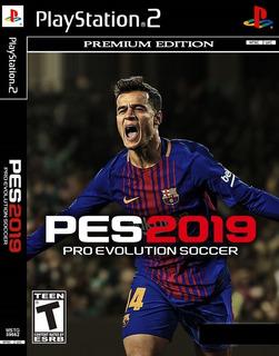 Pro Evolution Soccer 2019 Pes19 Español Ps2 Playstation 2