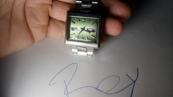 Relógio Raro Seiko 5 6119 Lindo Tdo Original